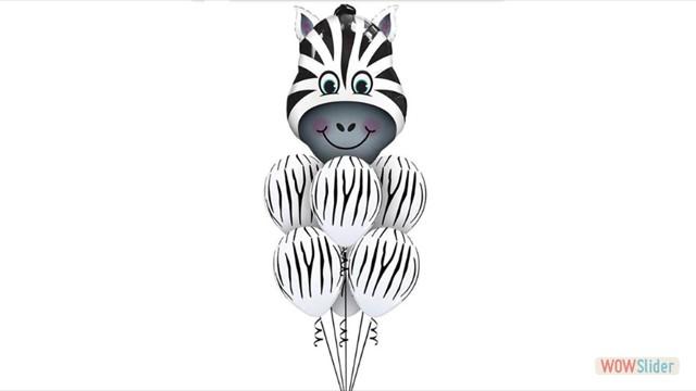 Набор шариков зебра
